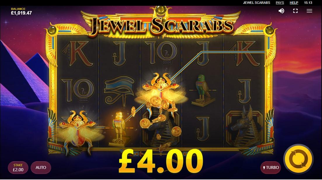 Играть бесплатно Jewel Scarabs