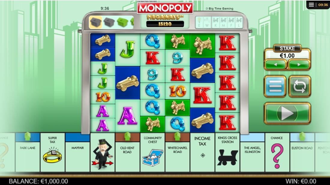 Онлайн слот Monopoly Megaways