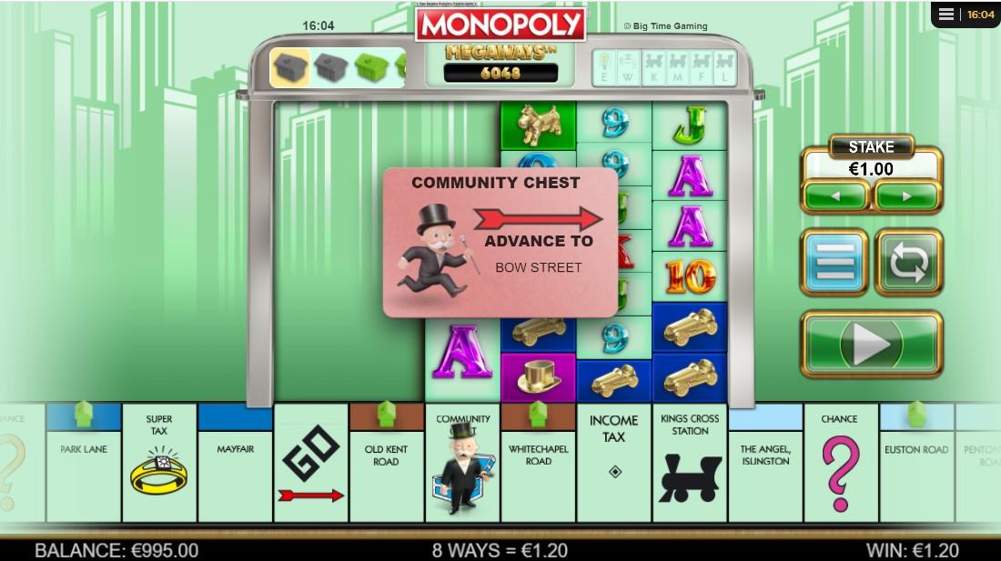 Играть бесплатно Monopoly Megaways