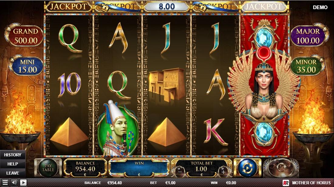 Члот Mother of Horus играть бесплатно