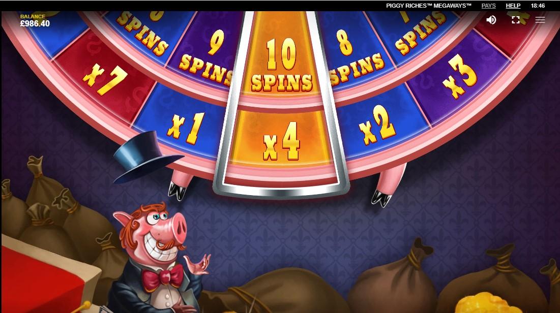 Бесплатный игровой автомат Piggy Riches Megaways