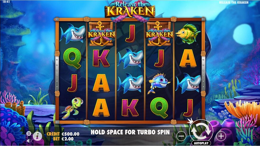 Release the Kraken бесплатный онлайн слот