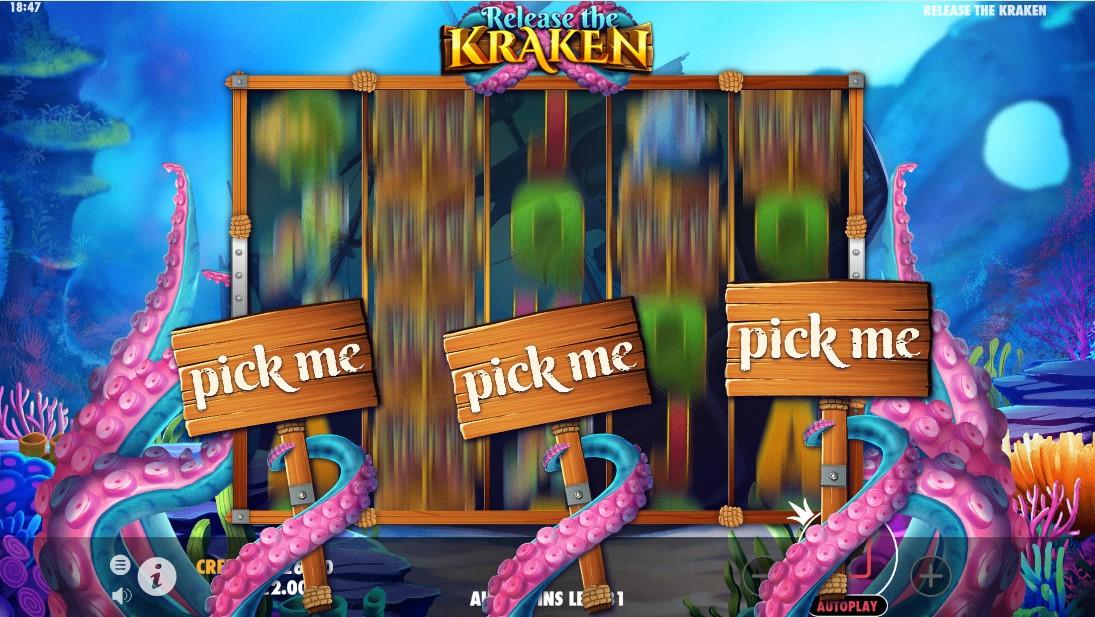 Играть бесплатно Release the Kraken