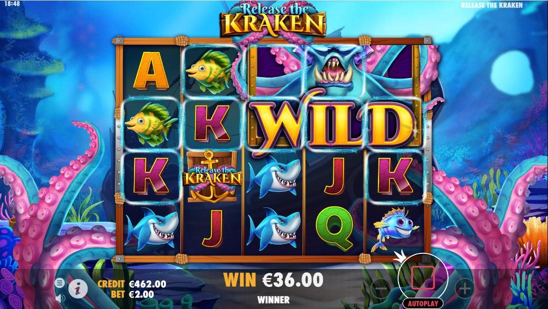 Онлайн слот Release the Kraken