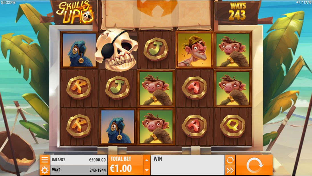 Слот Skulls UP! играть бесплатно