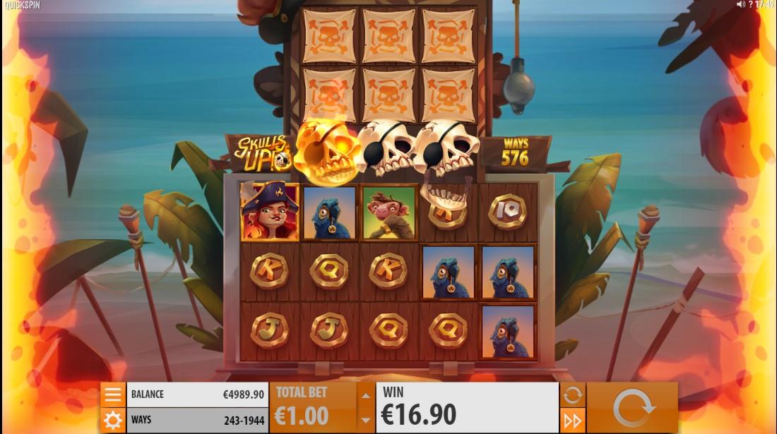 Skulls UP! игровой автомат