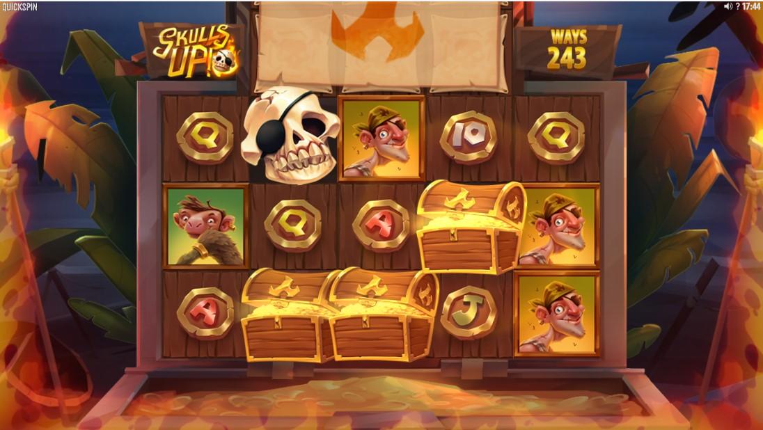 Игровой автомат Skulls UP! играть бесплатно