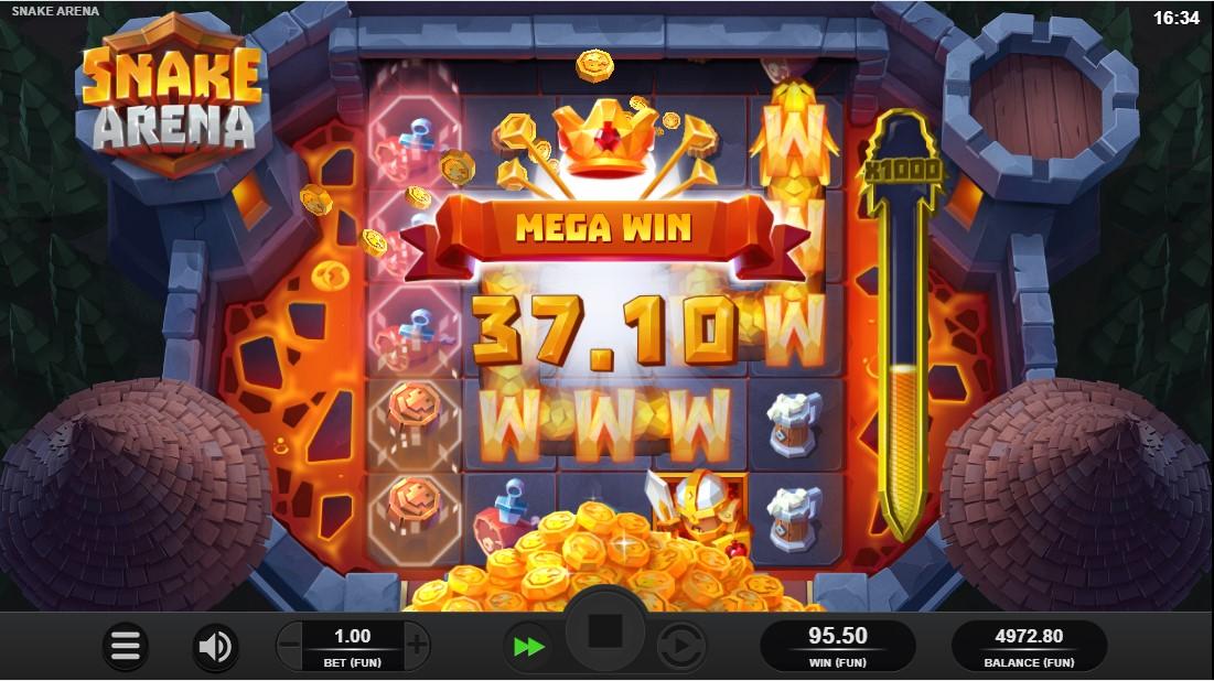 Игровой автомат Snake Arena
