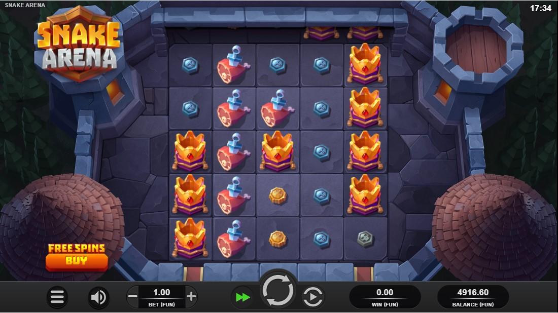 Snake Arena играть онлайн