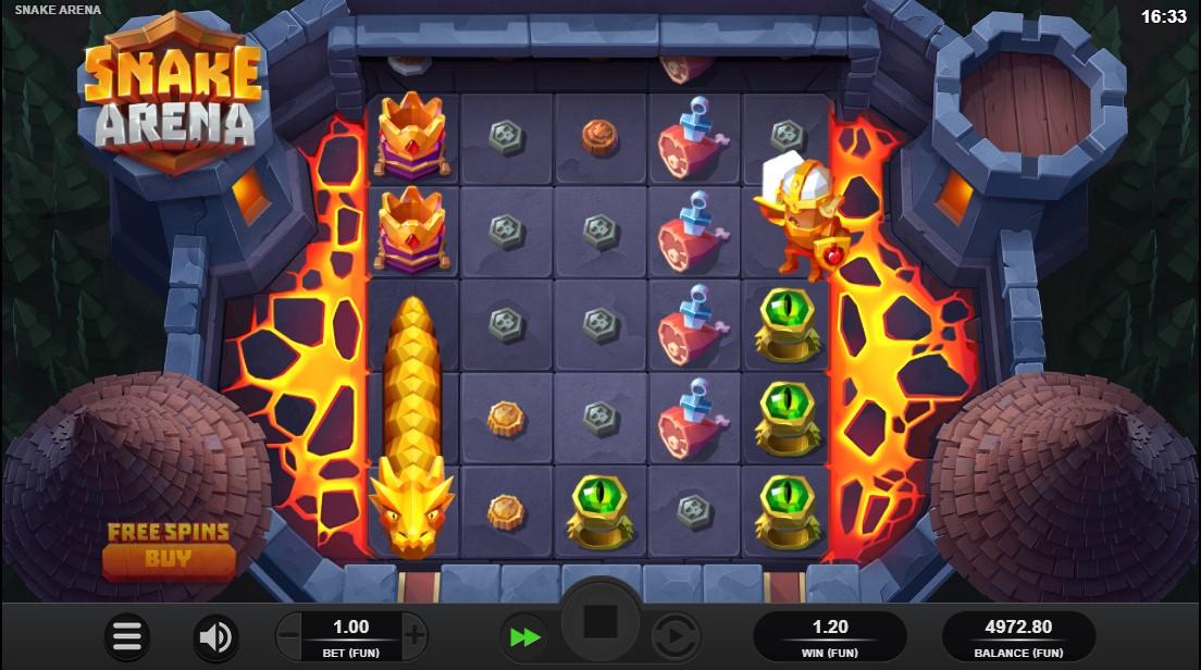 Играть онлайн Snake Arena бесплатно