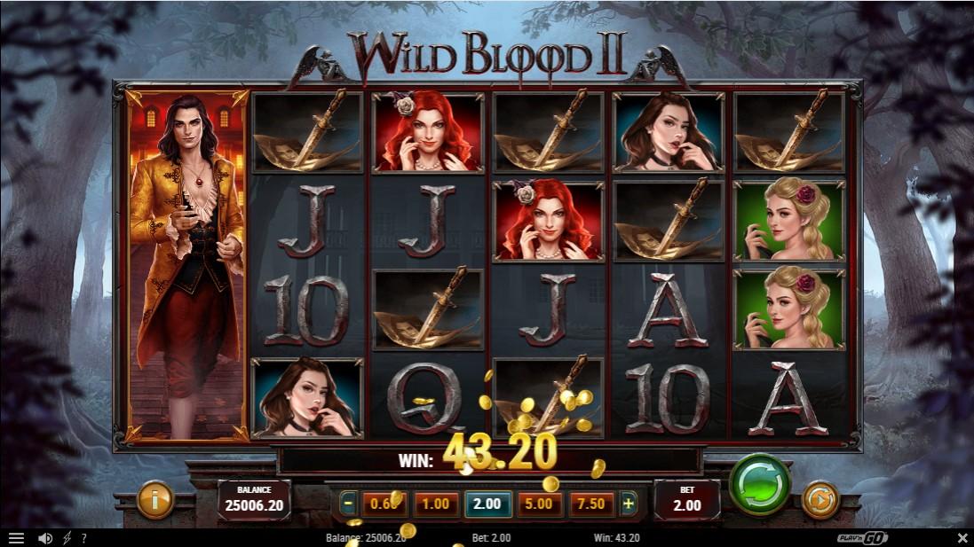 Слот онлайн Wild Blood 2 играть