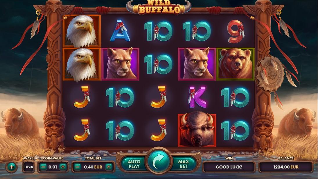Wild Buffalo игровой автомат