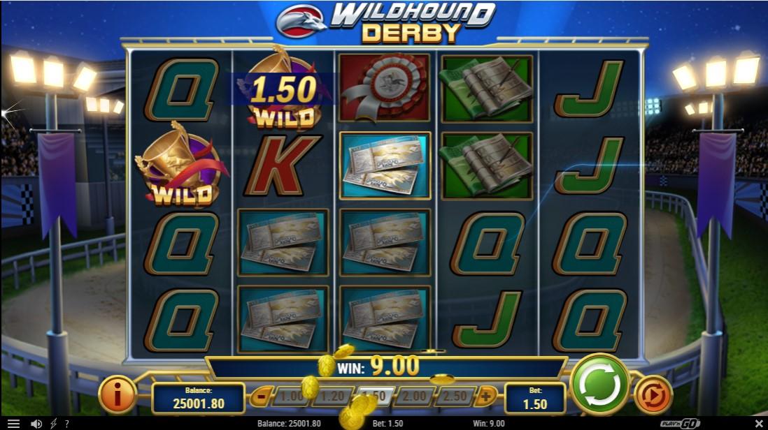 Бесплатный слот Wildhound Derby играть онлайн