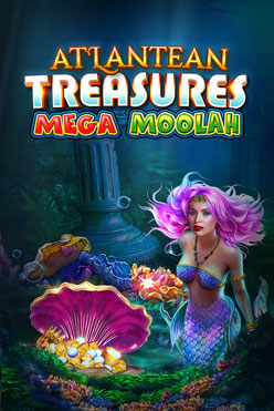 Играть Atlantean Treasures Mega Moolah онлайн
