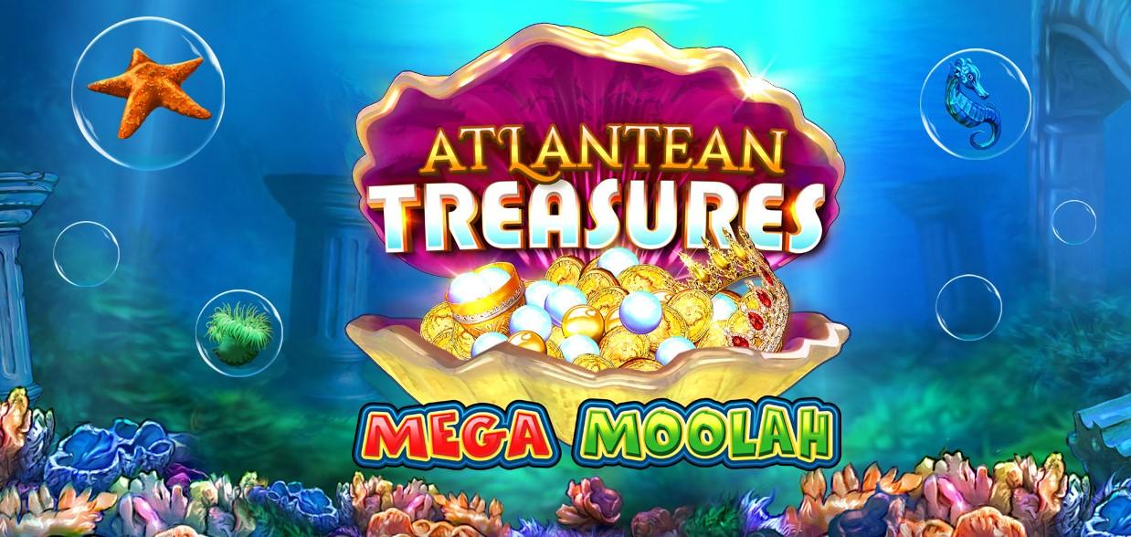 Играть Atlantean Treasures Mega Moolah бесплатно