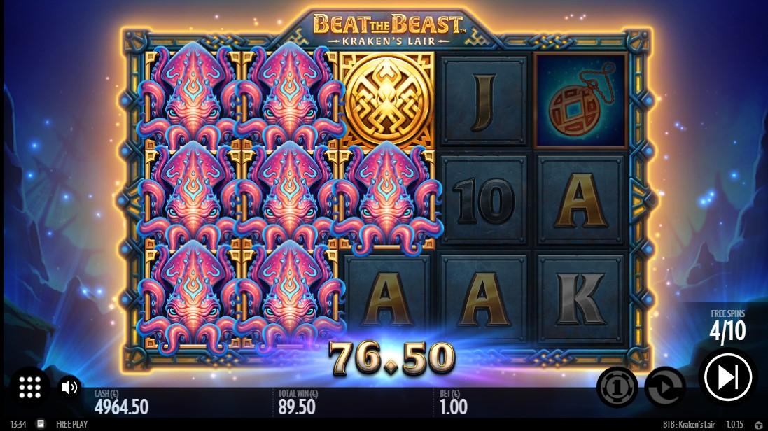 Игровой автомат Beat the Beast Kraken's Lair