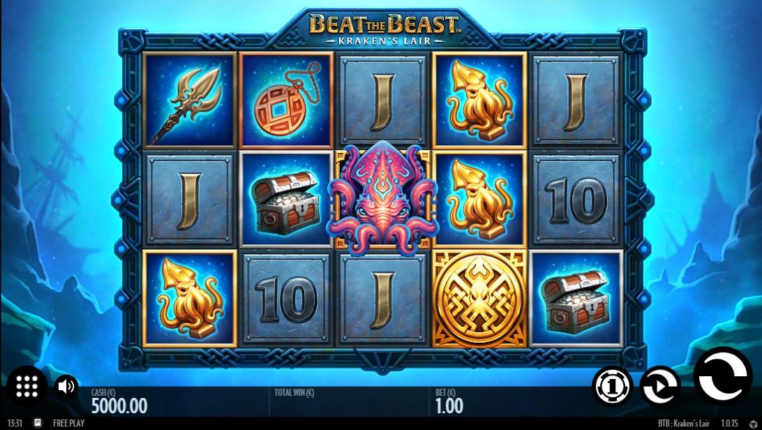 Beat the Beast Kraken's Lair игровой автомат