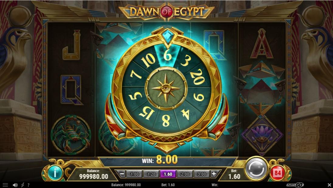 Игровой автомат Dawn of Egypt