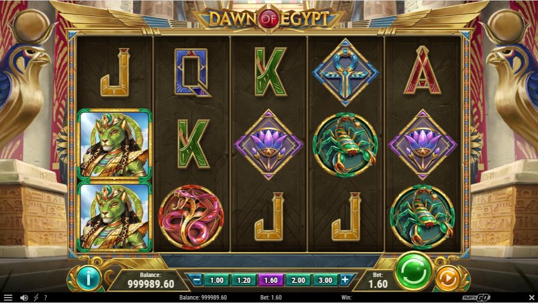 Онлайн слот Dawn of Egypt