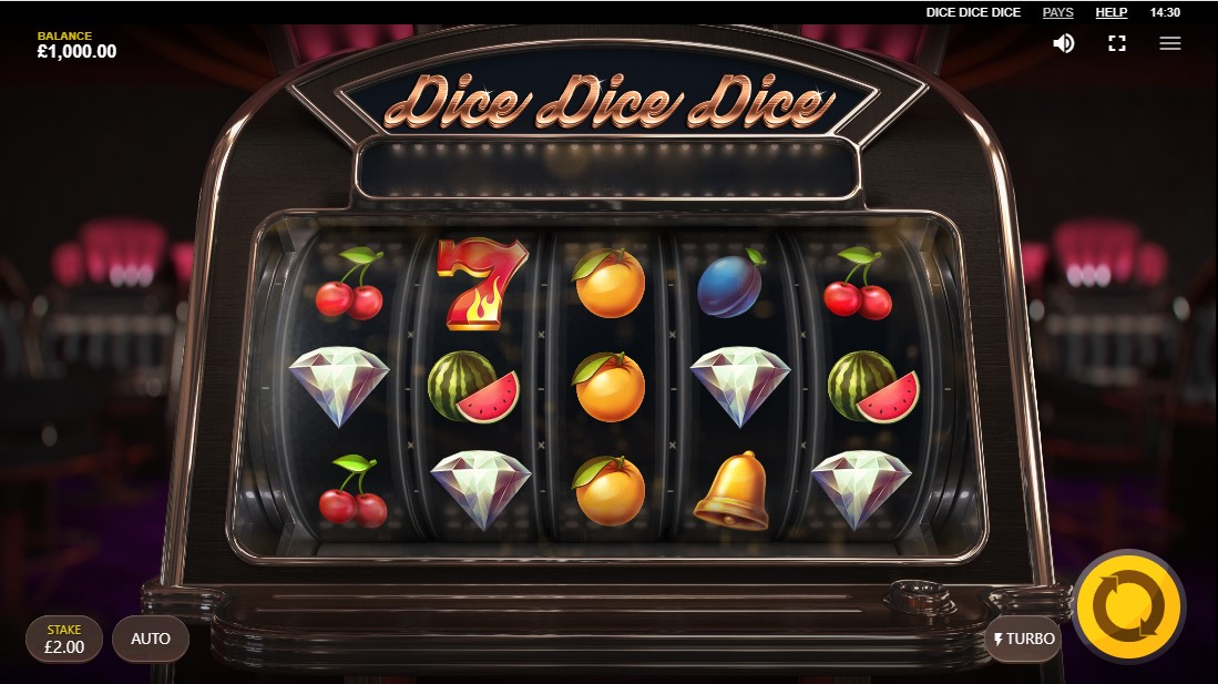 Dice Dice Dice бесплатный игровой автомат