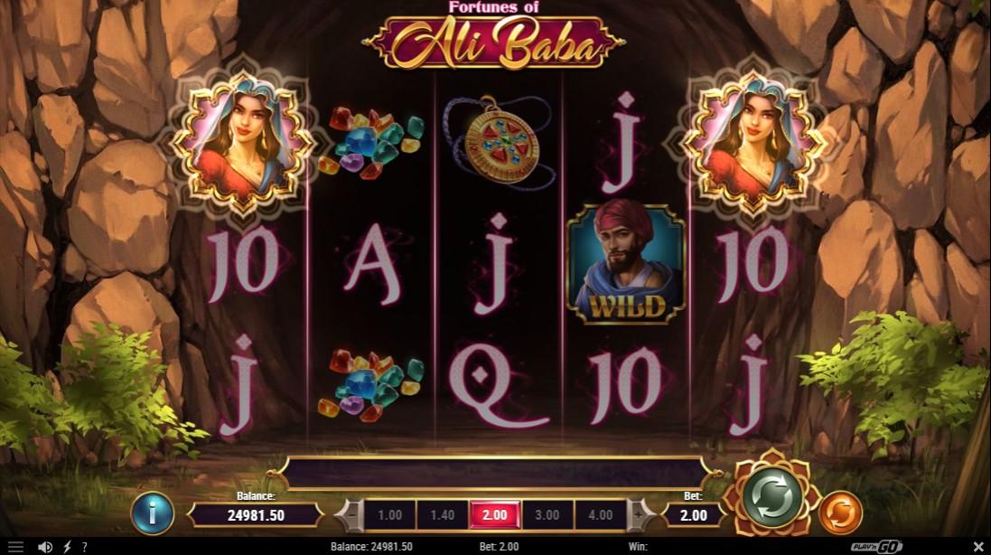 Слот Fortunes of Alibaba играть бесплатно