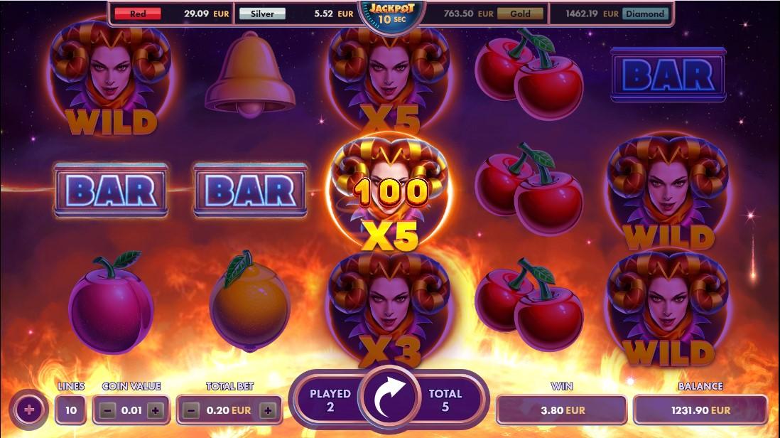 Игровой автомат Fruits Fury
