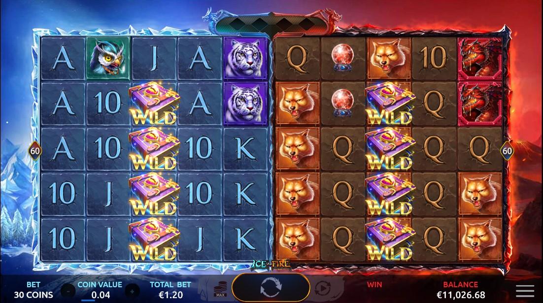 Игровой автомат Ice and Fire