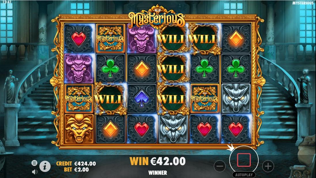 Игровой автомат Mysterious