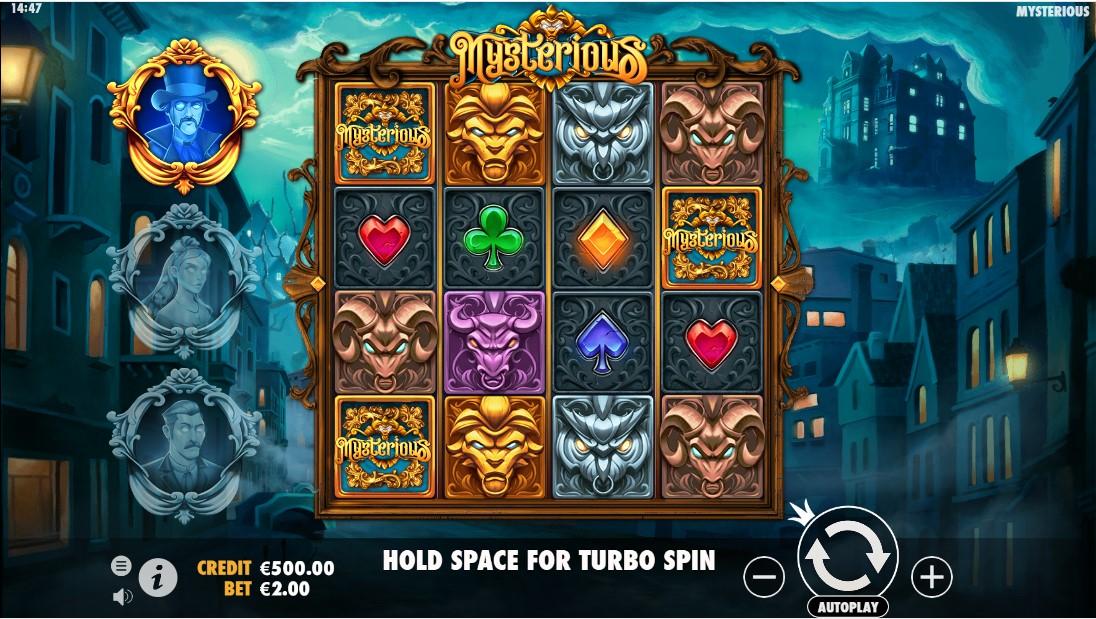 Бесплатный игровой автомат Mysterious онлайн