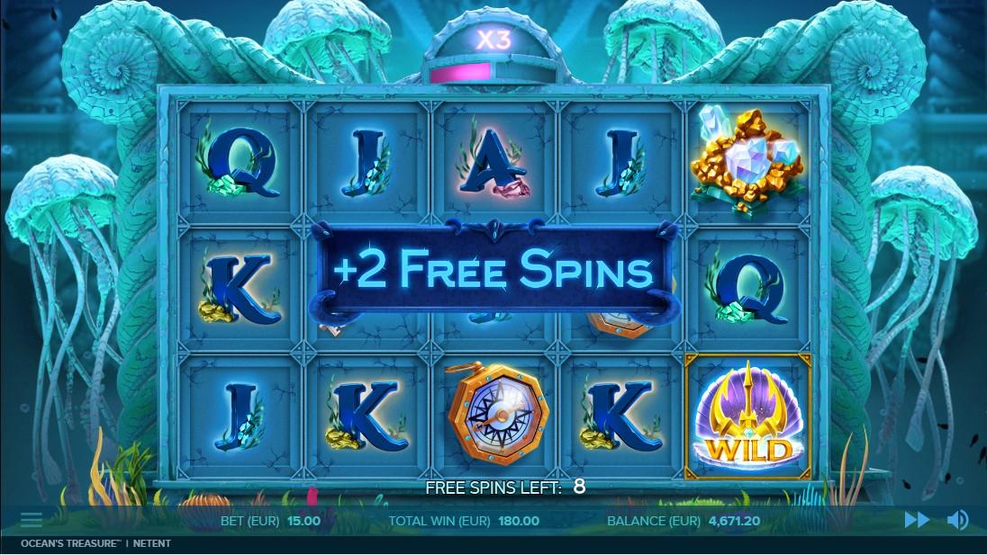 Игровой автомат Ocean's Treasure