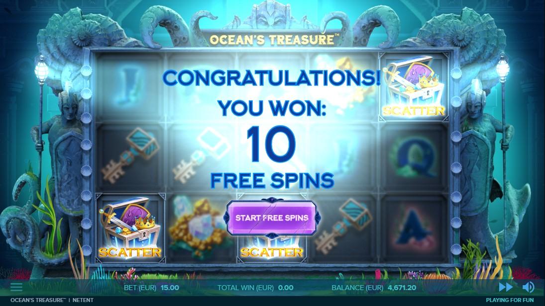 Онлайн слот Ocean's Treasure