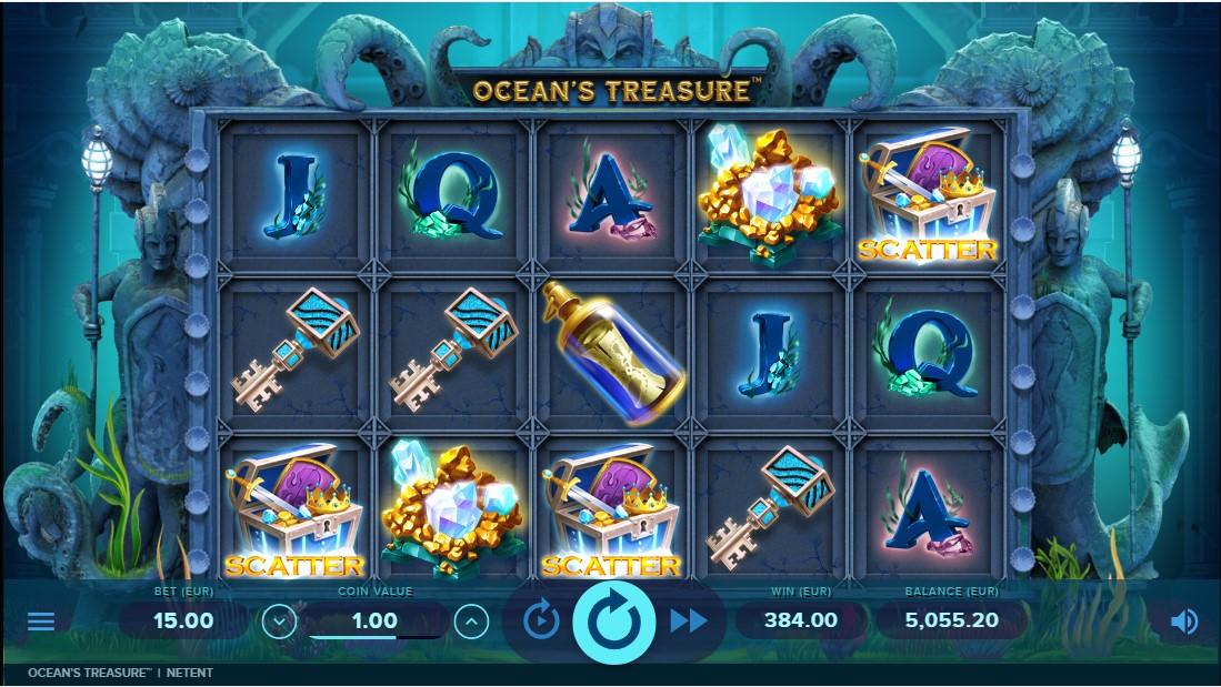 Слот Ocean's Treasure играть бесплатно