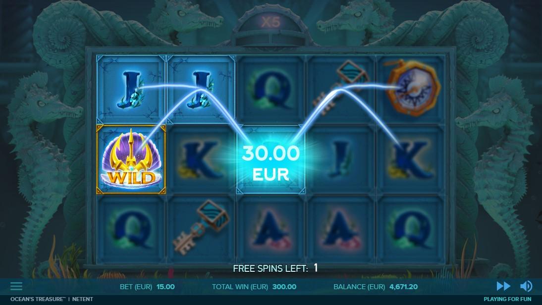 Ocean's Treasure онлайн слот