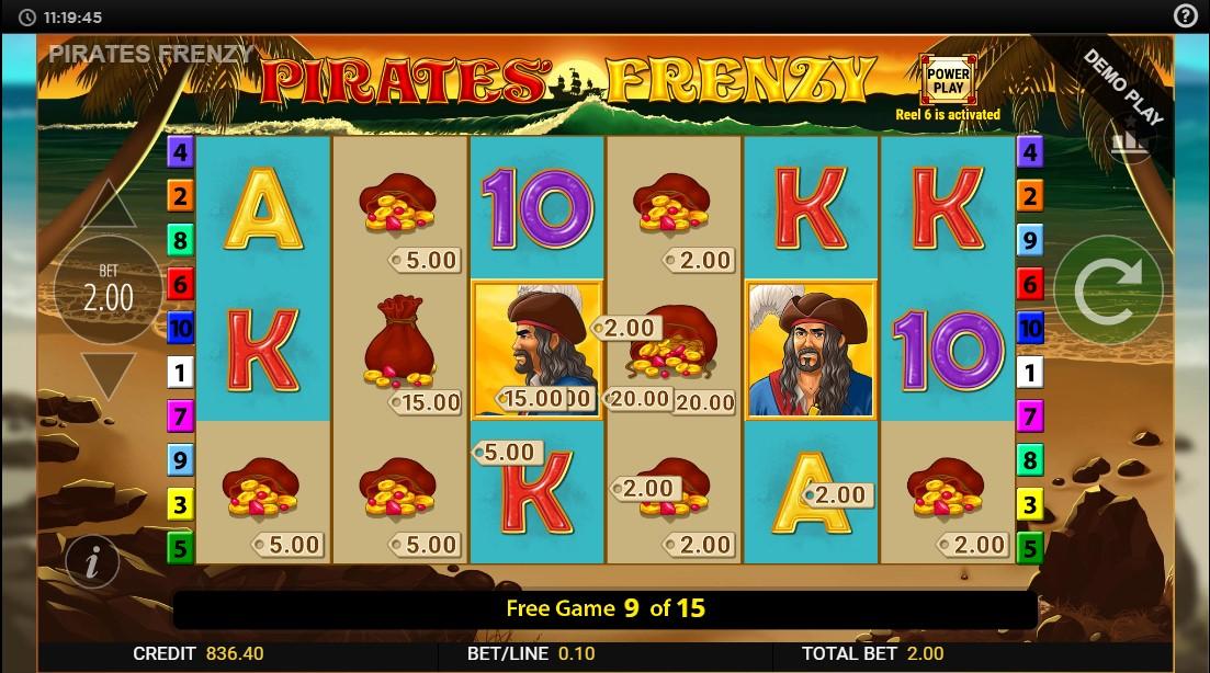 Игровой автомат Pirates Frenzy
