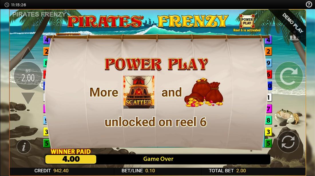 Бесплатный слот Pirates Frenzy