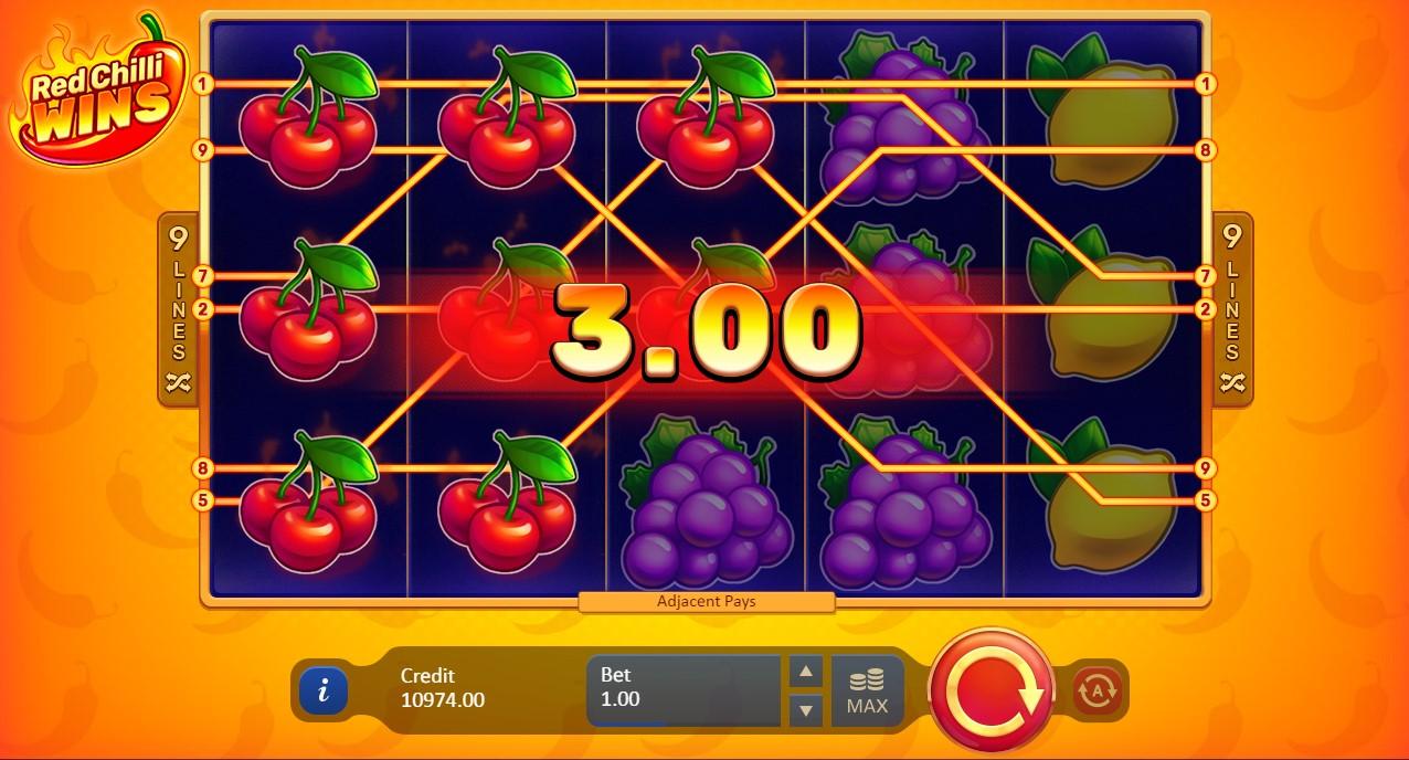 Игровой автомат Red Chilli Wins