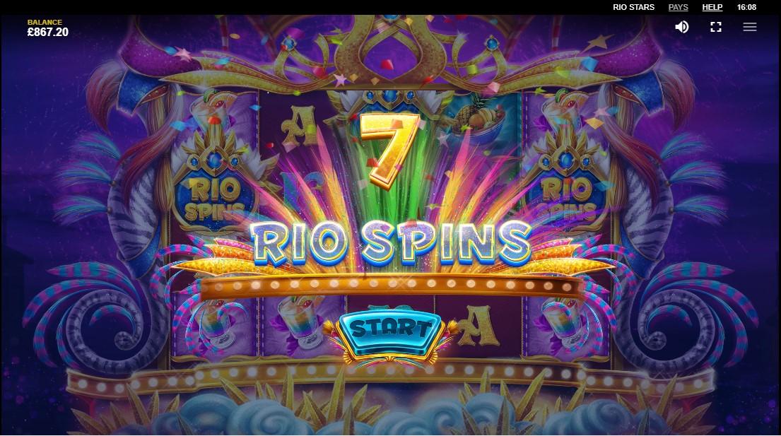 Игровой автомат Rio Stars