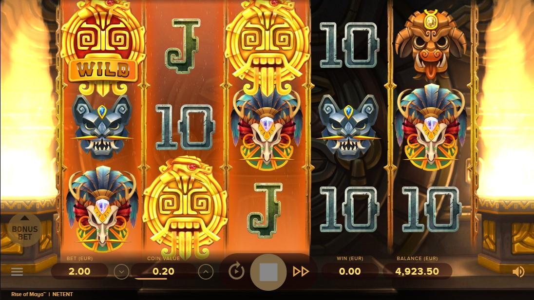 Бесплатный слот Rise of Maya