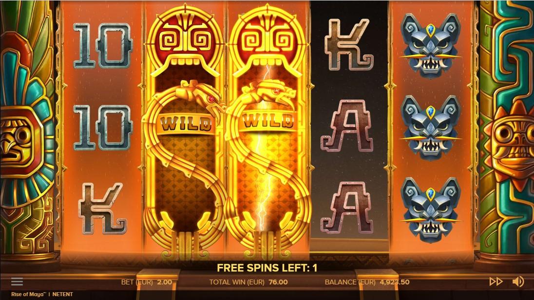Игровой автомат Rise of Maya
