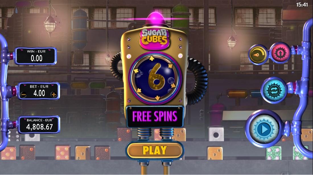 Игровой автомат Sugar Cubes