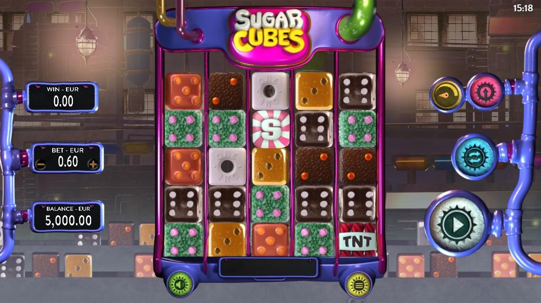 Бесплатный слот Sugar Cubes