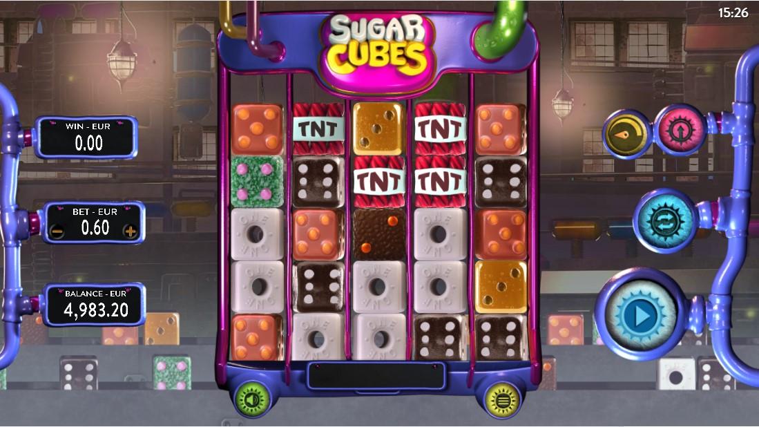 Онлайн слот Sugar Cubes