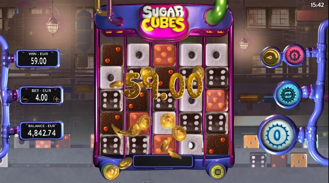 Играть бесплатно Sugar Cubes
