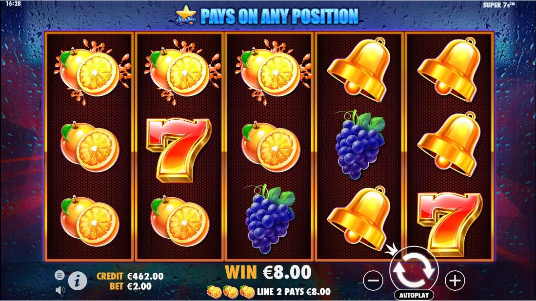 Super 7s бесплатный игровой автомат