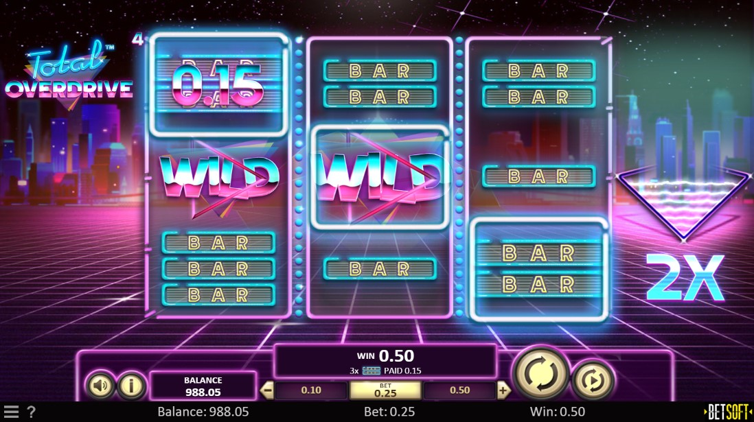 Игровой автомат Total Overdrive