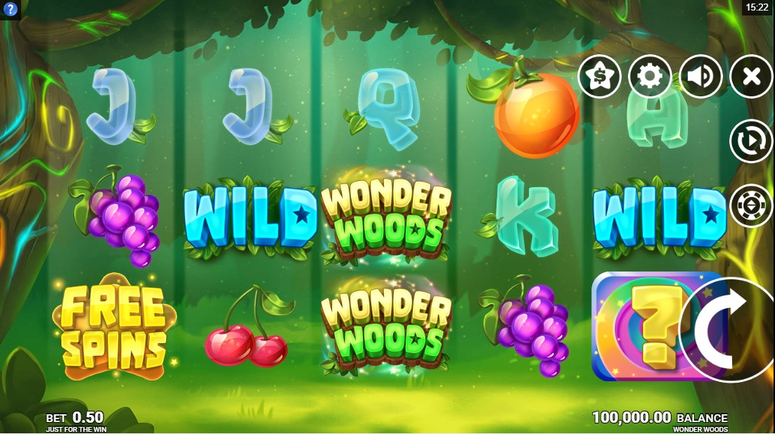 лот Wonder Woods играть онлайн
