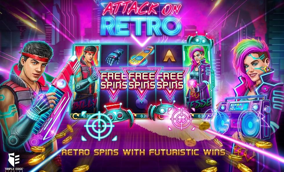 Играть Attack on Retro бесплатно