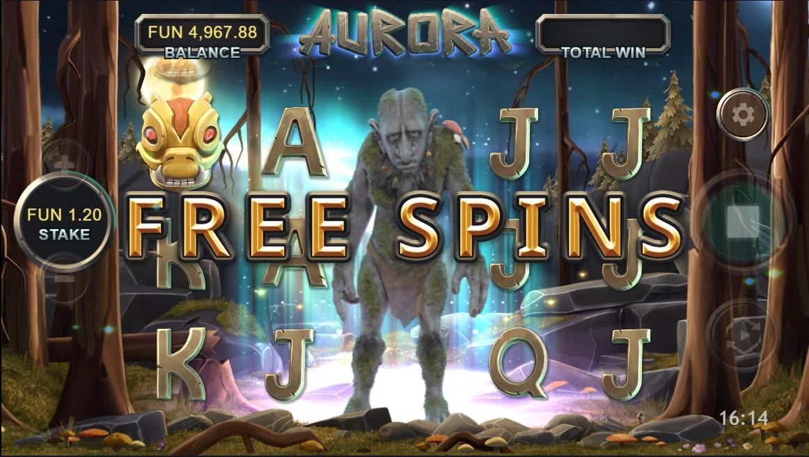 Онлайн слот Aurora