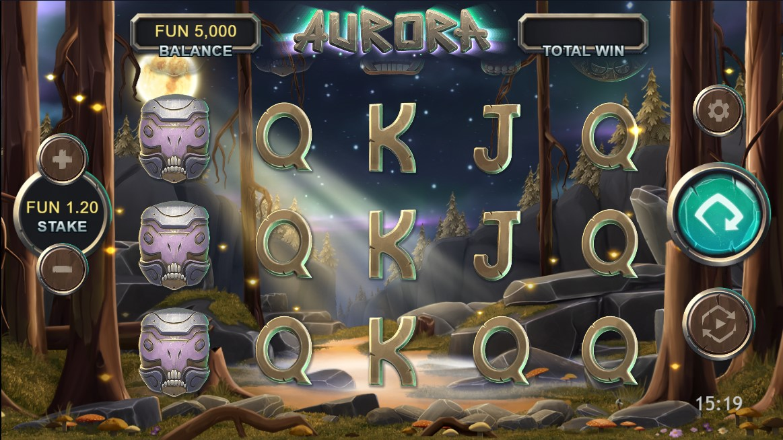 Онлайн слот Aurora играть бесплатно