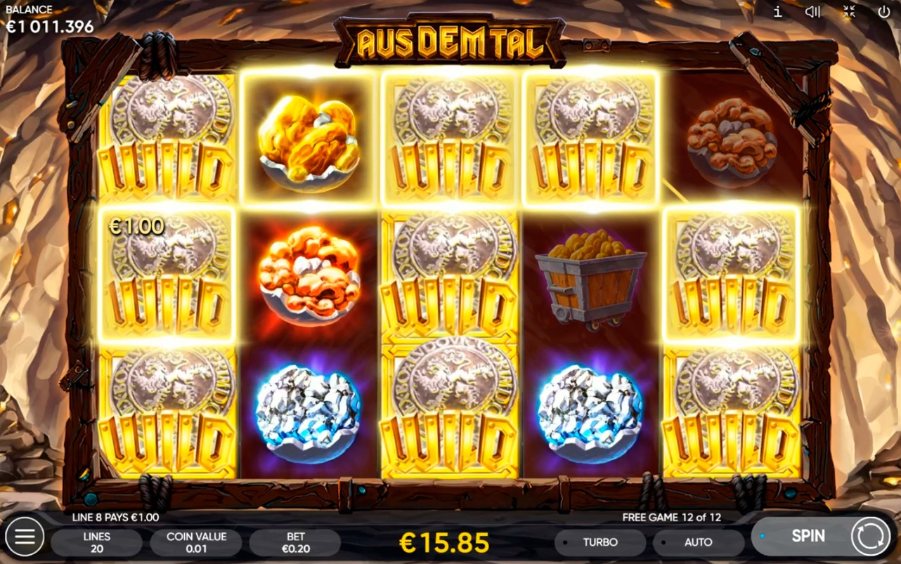 Игровой автомат Aus Dem Tal